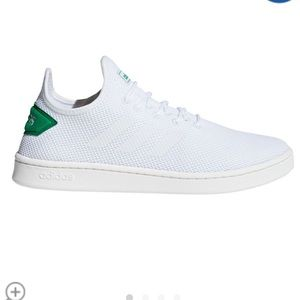 Adidas Court adapt green white  shoes size 11.5!